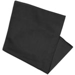 "Basico 100% Cotton Head Wrap Solid Bandanas 12 Pack 22""x22""Various Colors"