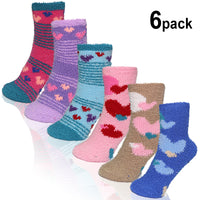Basico Fuzzy Socks for women 6pairs