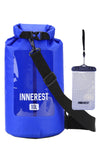 Innerest Waterproof Dry Bag with WINDOW Lightweight Sack for Outdoor Water Recreation Beach Boating Camping Fishing Kayaking