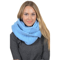 Basico Knit Infinity Winter Tulip Scarf (SF1601)