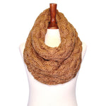 Basico Knit Infinity Winter Chunky Scarf (11 Colors) (SF1602)