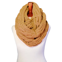 Basico Winter Chunky Knitted Infinity Scarf Warm Circle Loop Various Colors (19 Colors) (SF1603)
