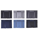 Innerest Basico Men's Seamless Underwear Compression Boxer Briefs Sets 5 (6 pack)