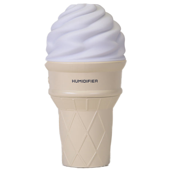 Innerest Ice Cream Mini Humidifier LED Night Light for Personal Single Room Office Desk