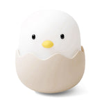 Innerest Baby Children Eggshell Night Light Nursery Breastfeeding Mood Lamp Touch Control USB Charge Battery