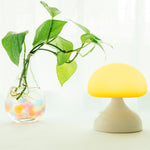 Innerest Baby Children Night Mushroom Light Nursery Breastfeeding Mood Outdoor Lamp Touch Control USB Charge Battery