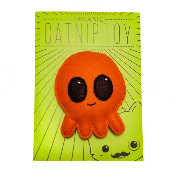 Organic Catnip Octopus Cat Toy