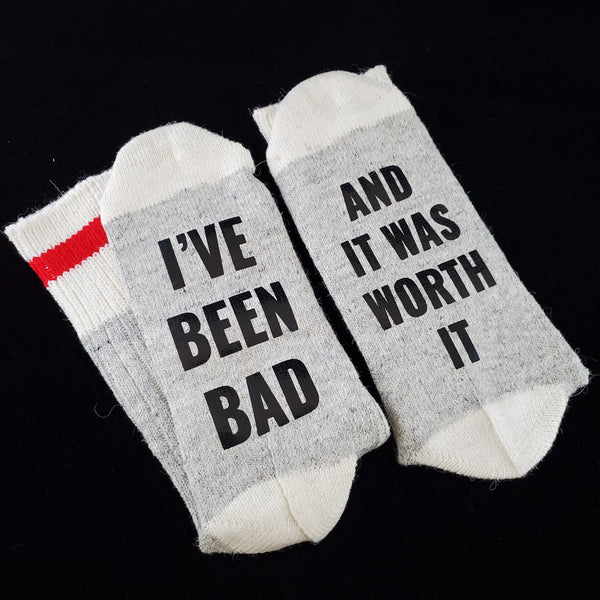 I've been bad - BS Socks
