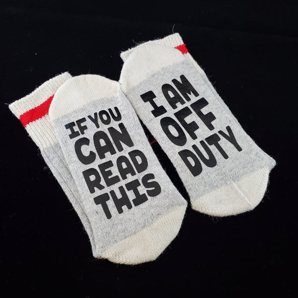 I am off duty - BS Socks