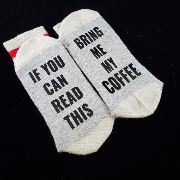 Bring me my coffee - BS Socks