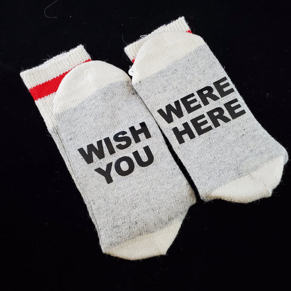 Wish You Were Here - BS Socks