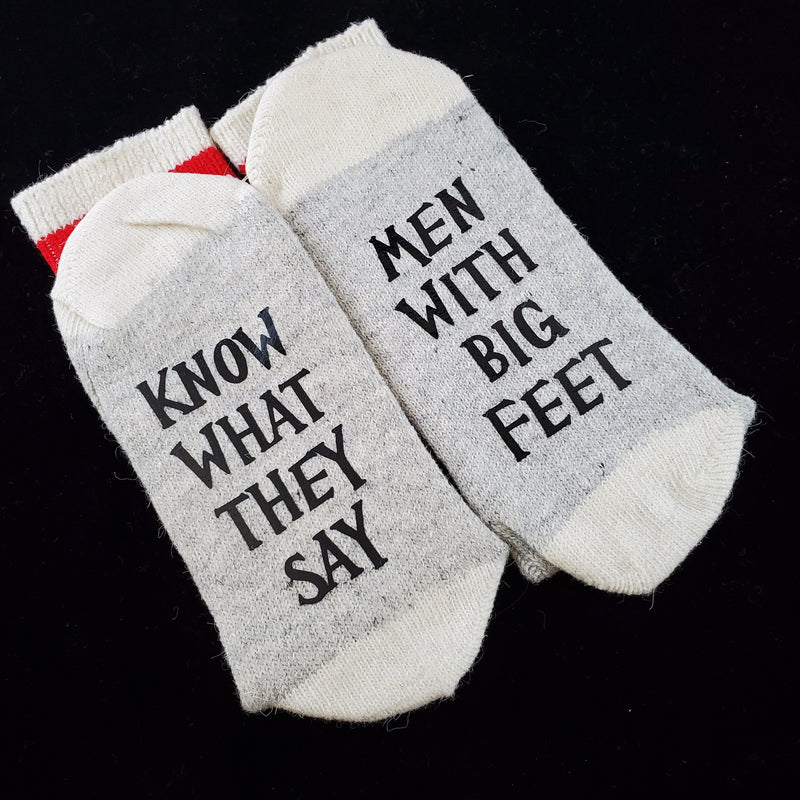 Know What They Say - BS Socks