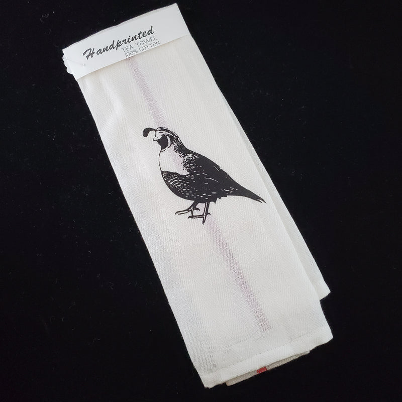 Quail - Cotton Tea Towel