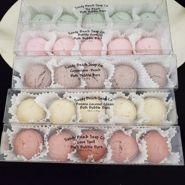 Bath Bubble Bars (13 Scents)