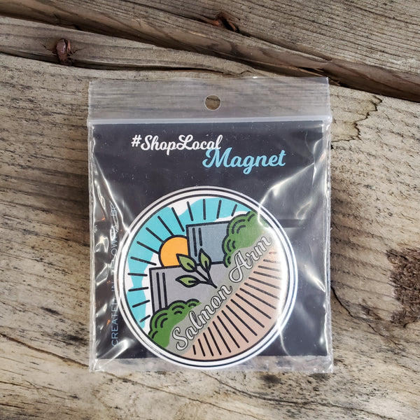 Salmon Arm - Circle Magnets