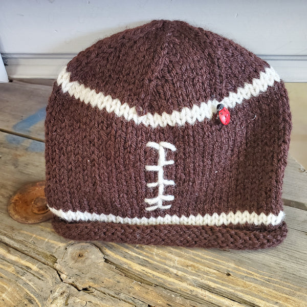 Knitted Football Toque