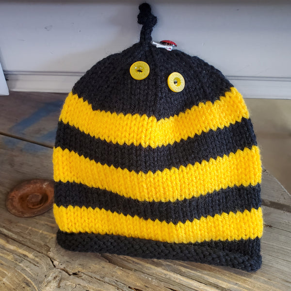 Knitted Bumblebee Toque