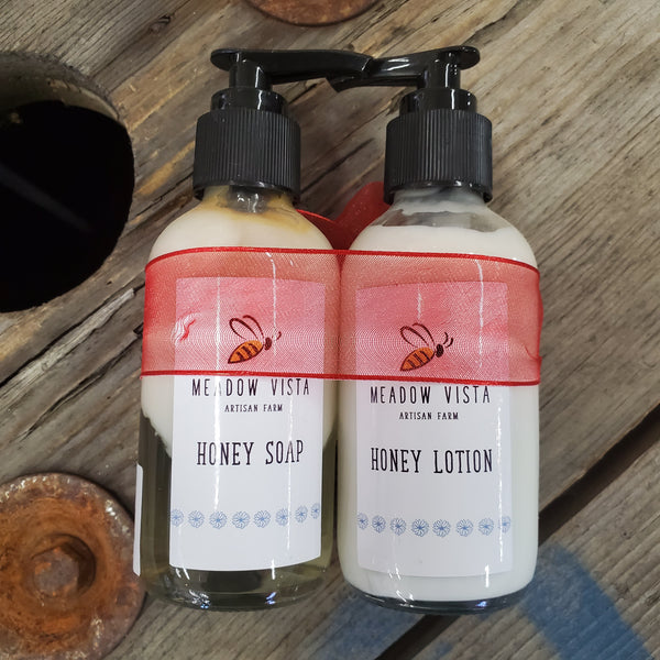 Honey Soap and Lotion Set