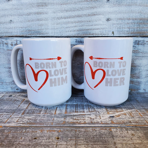 Born to Love - Mug Set