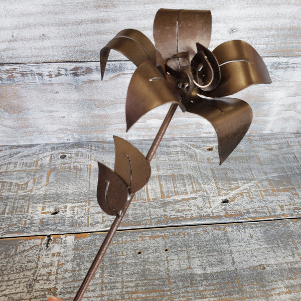 Handmade Metal Flowers