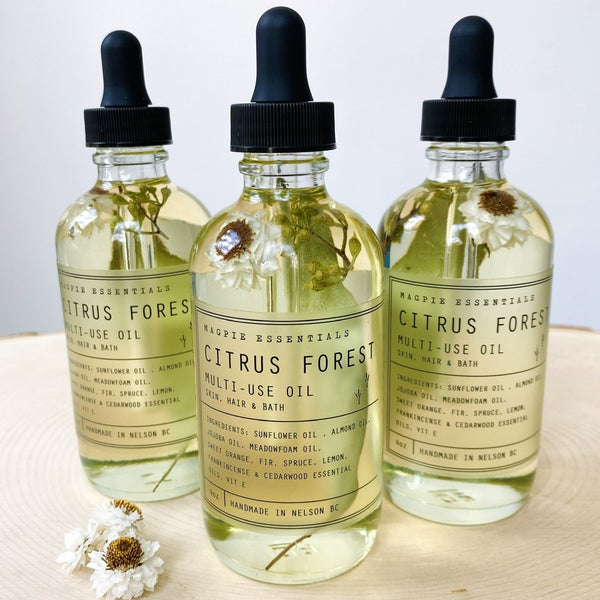 Citrus Forest Multi Use Oil