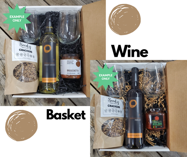 Wine Gift Box/Basket