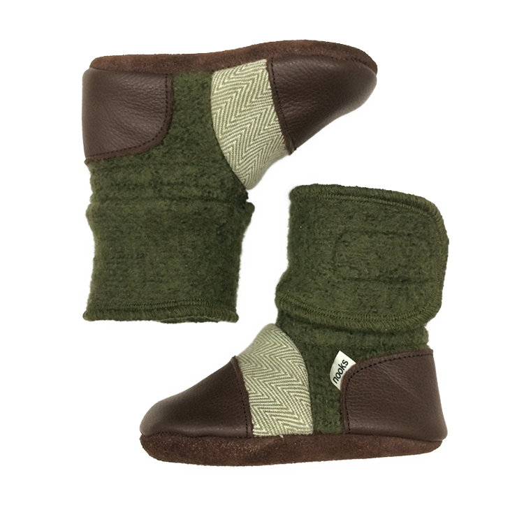 Coastal Forest Bootie