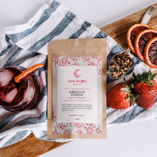 Hibiscus Punch Tea