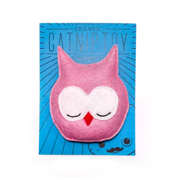 Organic Catnip Owl Cat Toy