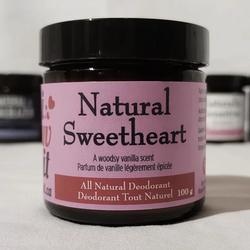 Natural Sweetheart - Natural Deodorant