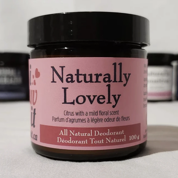 Naturally Lovely - Natural Deodorant