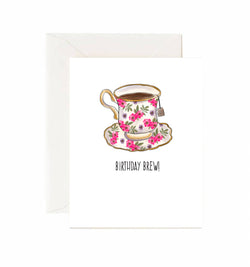 Birthday brew - Greeting card
