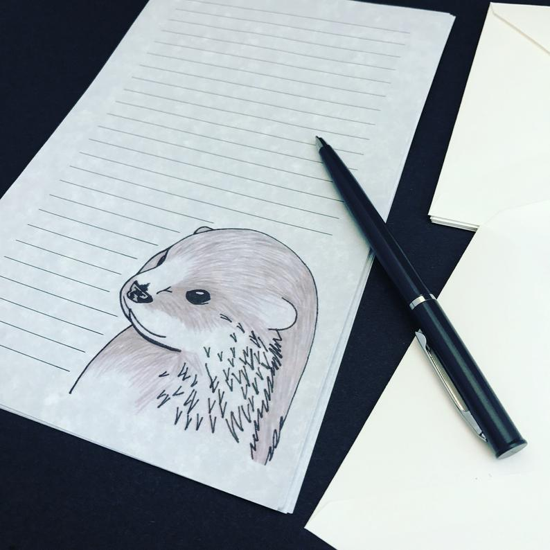 Otterly Ridiculous - PenPal Stationery Writing Set