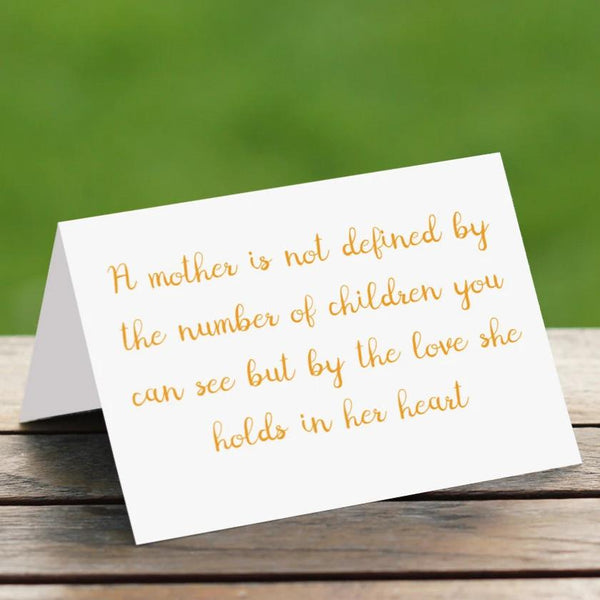 A Mother - Card