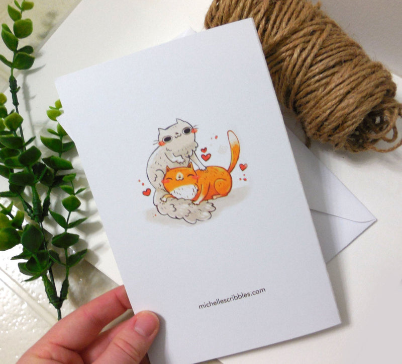 I Knead You - Cat Card