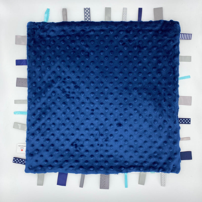 Blues - Tag Baby Blanket
