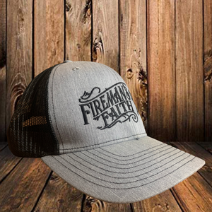 Fireman's Faith Logo Hat