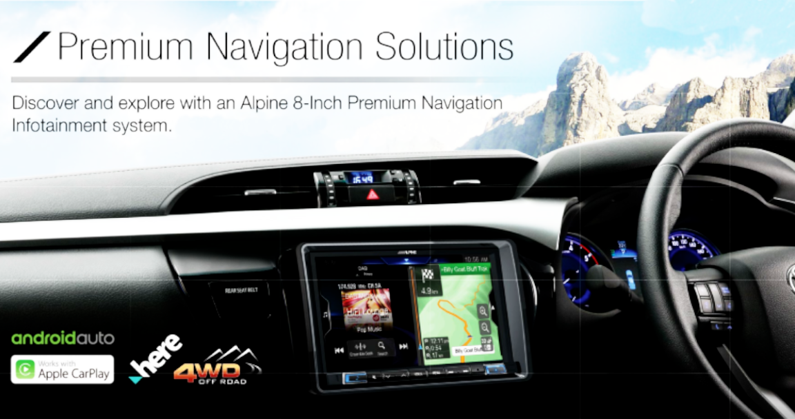 "Alpine 8"" Premium Car-specific Solutions (ON SALE)"