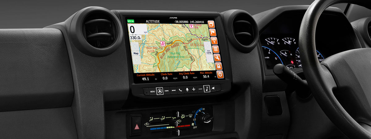 "Alpine 9"" Car Specific HEMA Navigation Units"