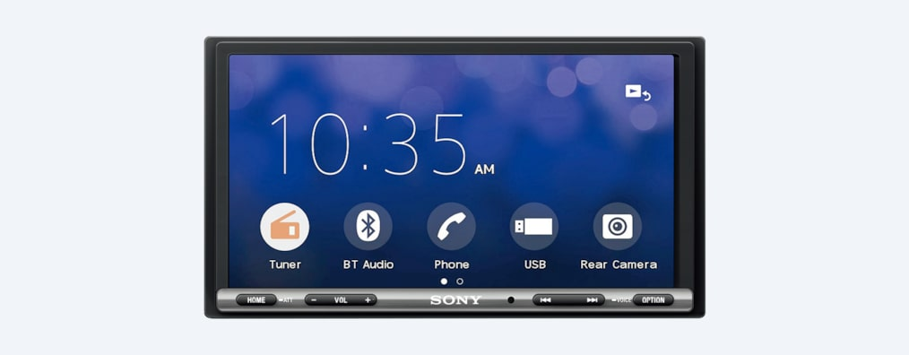 "Sony XAVAX3000 17.6cm (6.95"") Apple CarPlay / Android Auto™ Media Receiver"