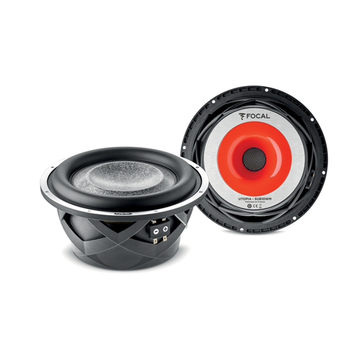 FOCAL 10WM-WOOFER-1 10″ Subwoofer (Utopia M) 400W RMS, 25Hz to 800Hz, Dual 4 Ohm [Each]