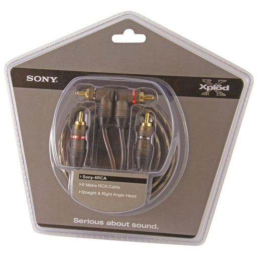 Sony SONY6RCA 6-metre RCA Cable