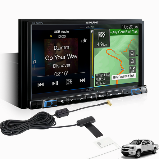Alpine COLO16-W997D Premium Infotainment Systems for Holden Colorado