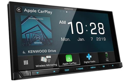 Kenwood DMX8019DABS Wireless CarPlay Android Auto DAB+ Receiver