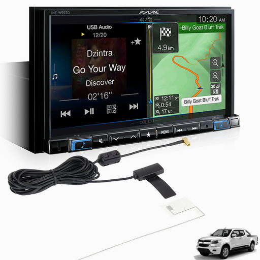 Alpine COLORADO-W997V Premium Infotainment System for Holden Colorado