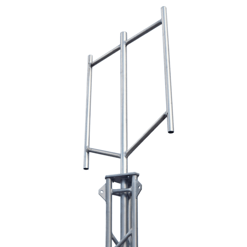 Blackhawk 2-sector Masthead Aluminium for Lattice Towers