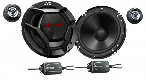 "JVC CS-DR600C drvn DR Series 16cm (6-1/2"") 2-Way Component Speakers"