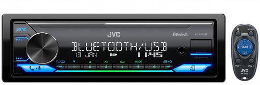 JVC KD-X472BT Digital Media Receiver with Bluetooth / USB / Spotify / FLAC / 13-Band EQ / JVC Remote App Compatibility