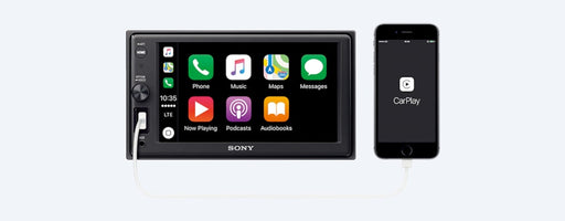 "Sony XAVAX1000 15.7cm (6.2"") Apple CarPlay Media Receiver with BLUETOOTH®"