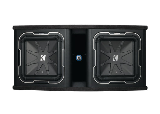 "Kicker Solo-Baric DL7122 Dual 12"" 1800W Ported Enclosure (2Ω)"